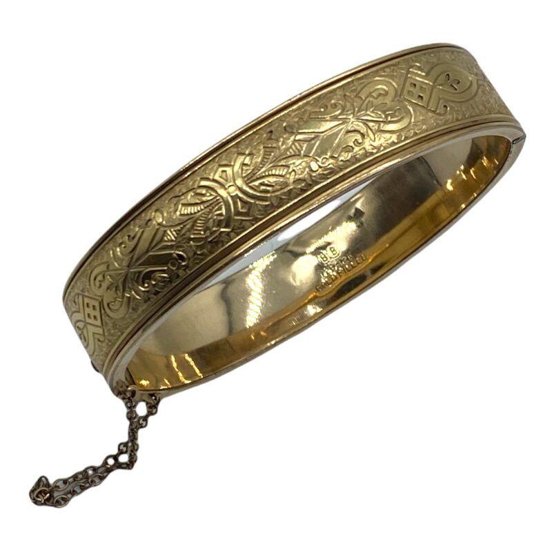 Binder Bros Gold Filled Bangle Bracelet